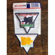 1997-98  MANCHESTER UNITED EPL PATCH