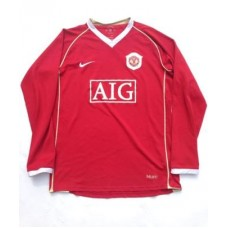 2006-07 MANCHESTER UNITED L/S HOME SHIRTS
