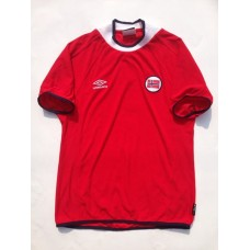 2000-02 NORWAY HOME SHIRTS