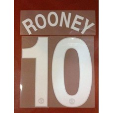2008-11 MANCHESTER UNITED HOME  UCL NAMESET ROONEY
