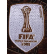 2008 WCC FIFA WORLD CHAMPIONS PATCH