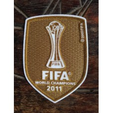 2011 WCC FIFA WORLD CHAMPIONS PATCH