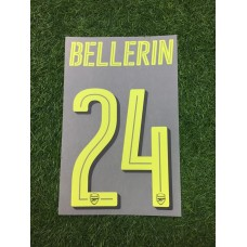 2016 - 17  ARSENAL CUP THIRD NAMESET BELLERIN