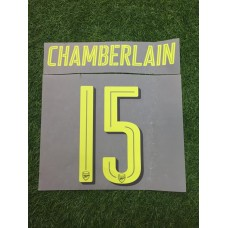 2016 - 17  ARSENAL CUP THIRD NAMESET CHAMBERLAIN