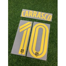 2016 - 17 ATLETICO MADRID LA LIGA AWAY  NAMESET CARRASCAO