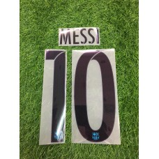 2015 - 16 BARCELONA THIRD NAMESET MESSI