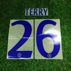 2014 - 15 CHELSEA AWAY CUP NAMESET TERRY