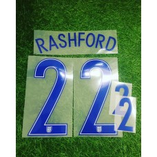 2016 -17  ENGLAND HOME NAMESET RASHFORD