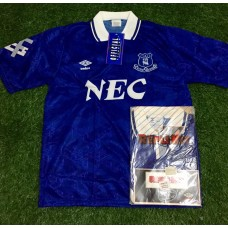 1991 - 93 EVERTON HOME SHIRT BNIB