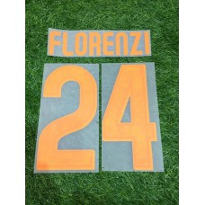2015 - 16 AS ROMA HOME NAMESET FLORENZI