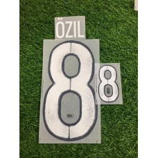 2016 - 17 GERMANY AWAY  NAMESET OZIL