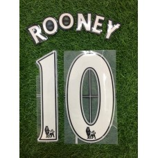 2007 - 13  MANCHESTER UNITED HOME NAMESET ROONEY