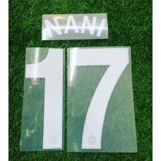 2008 - 11 MANCHESTER UNITED HOME  UCL NAMESET NANI