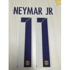 2015-16 BARCELONA AWAY NAMESET NEYMAR JR
