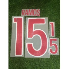 2016 SPAIN EURO CUP AWAY NAMESET SERGIO RAMOS