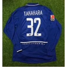 2004 - 05  HAMBURG SV  AWAY  MATCH WORN SHIRT TAKAHARA