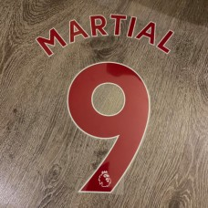 2020 - NOW MANCHESTER UNITED PREMIER LEAGUE RED NAMESET MARTIAL