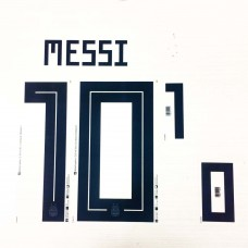 2018 ARGENTINA HOME NAMESET MESSI