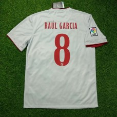 2014 - 15 ATLETICO MADRID AWAY SHIRT RAUL GARCIA