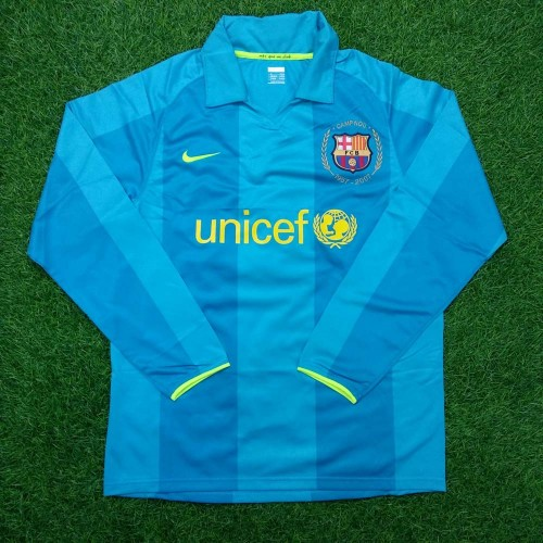 68af6936e 2007 - 08 BARCELONA AWAY PLAYER ISSUE SHIRT