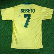 1994 BRAZIL HOME SHIRTS BEBETO