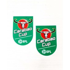 2017 - 2018 EFL CARABAO CUP PATCH