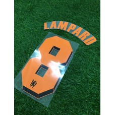 2010 -11 CHELSEA AWAY CUP NAMESET LAMPARD