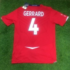 2008 ENGLAND AWAY SHIRT GERRARD