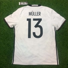 2016-17 GERMANY HOME SHIRT MULLER