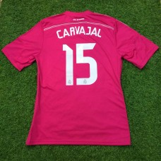 2014 - 15 REAL MADRID AWAY SHIRT CARVAJAL