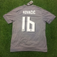 2015 - 16 REAL MADRID AWAY SHIRT KOVACIC
