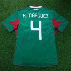 2010 MEXICO HOME SHIRTS MARQUEZ