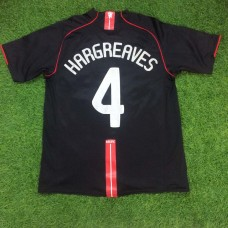 2007 - 08 MANCHESTER UNITED AWAY SHIRT HARGREAVES