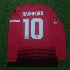 2018 - 19 MANCHESTER UNITED HOME SHIRT RASHFORD