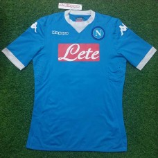 2015 - 16 NAPOLI HOME PLAYER ISSUE SHIRT