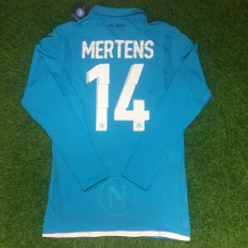 2014-15 NAPOLI HOME PLAYER ISSUE SHIRT MERTENS