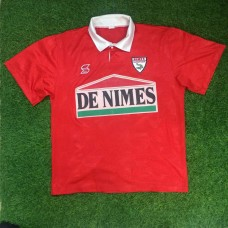 1992 - 93 NIMES OLYMPIQUE HOME SHIRT