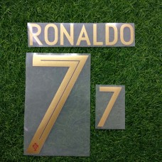 2018 PORTUGAL HOME NAMESET RONALDO