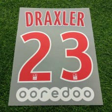 2018 - 19 PARIS SAINT-GERMAIN HOME NAMESET DRAXLER