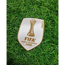 2008 MANCHESTER UNITED FIFA WORLD CUP CHAMPIONS PATCH