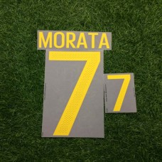 2016 - 17 SPAIN HOME NAMESET MORATA
