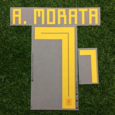 2018 SPAIN HOME NAMESET MORATA