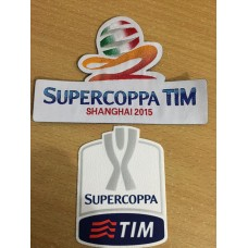 2015 -16 SUPER COPPA PATCH (PAIR)